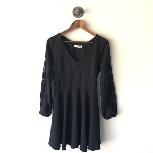 Abercrombie & Fitch long sleeved boho dress size M